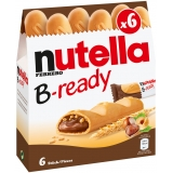 Nutella B-ready 6x22g