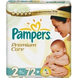 Pampers Premium Care 2 72ks