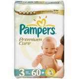 Pampers Premium Care 3 60ks
