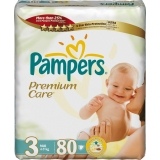 Pampers Premium Care 3 80ks