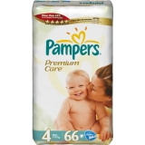 Pampers Premium Care 4 66ks